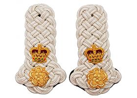 专业定制印度丝高端军用品配件印度丝肩章印度丝肩牌金属丝肩章