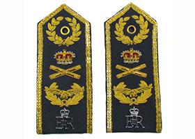 印度丝手工刺绣肩章飞行员航空海陆空军制服肩章定制肩牌臂章定做