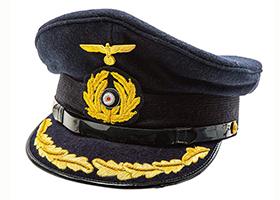 印度丝帽檐定制沙特大盖帽大檐帽子保安职业工作帽高档大盖帽