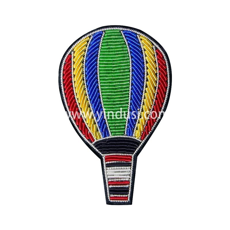 印度丝徽章梦幻百搭个性彩色浪漫热气球手工刺绣胸针女
