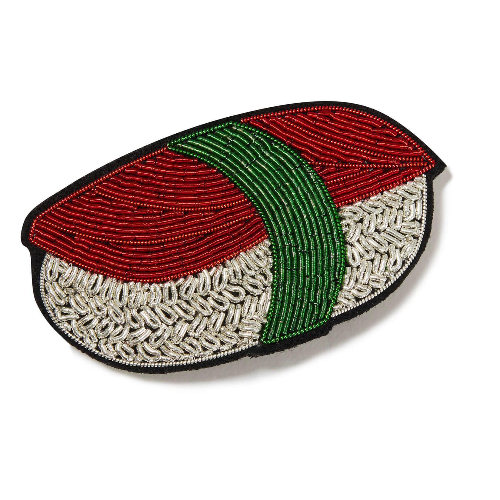 印度丝手工刺绣寿司料理发夹头饰,他们的黑匣子会保留秘密,以防万一!