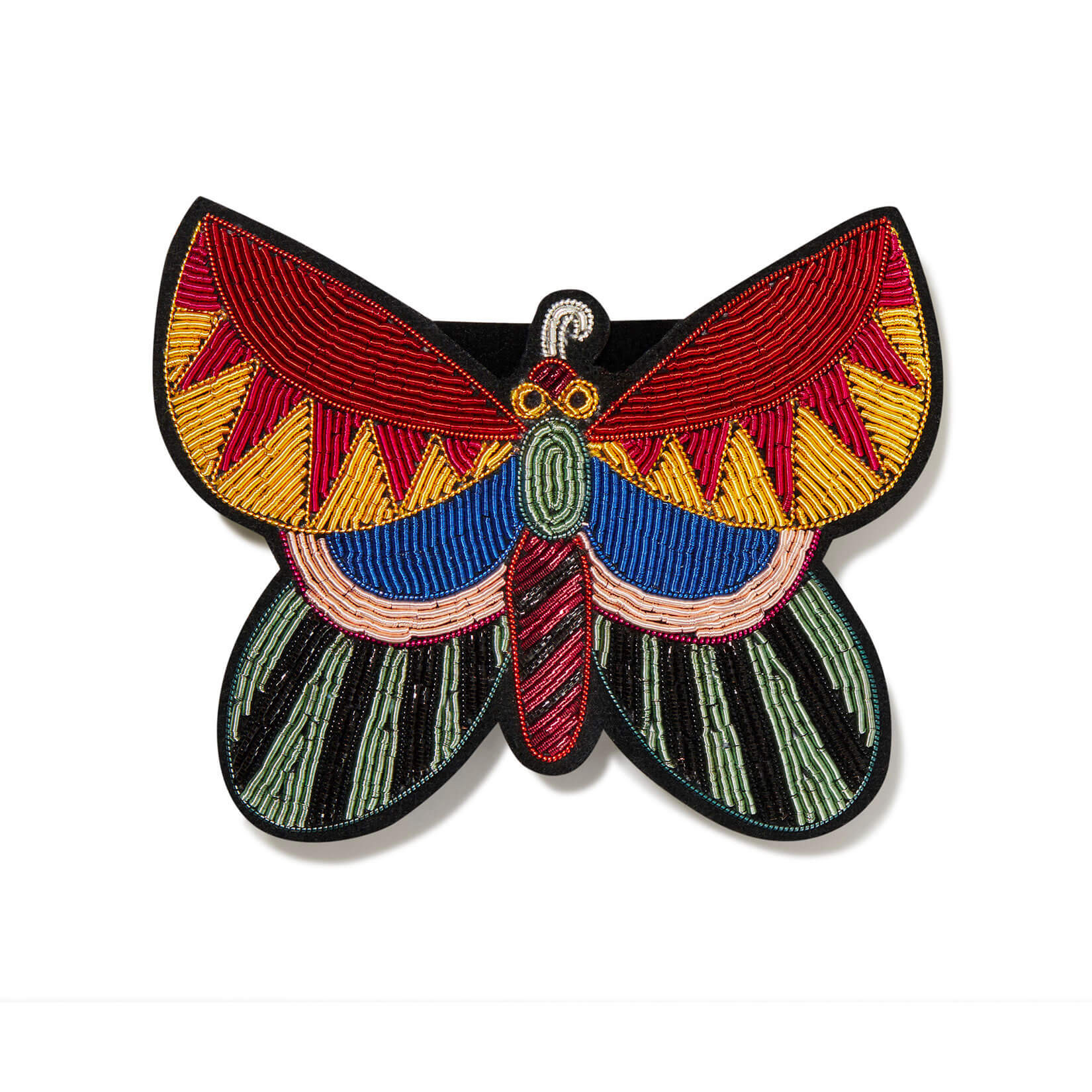 印度丝徽章手工刺绣发夹头饰,绣花会令您开心吗?用我们的手工绣花条几乎(有可能)。
