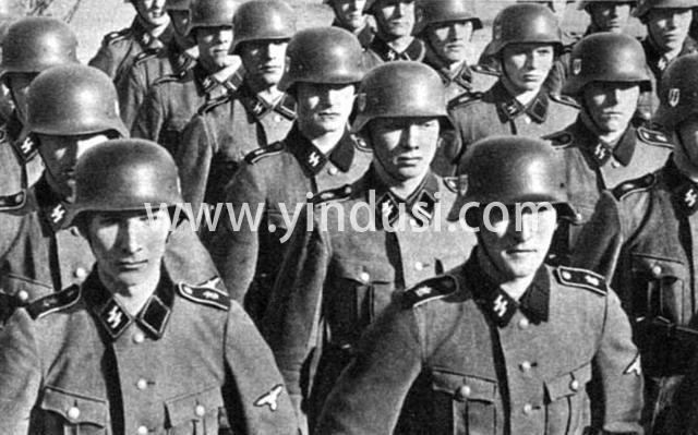 """二战中,德国党卫队为何单肩章?源自希特勒强调一个""""字"""""""