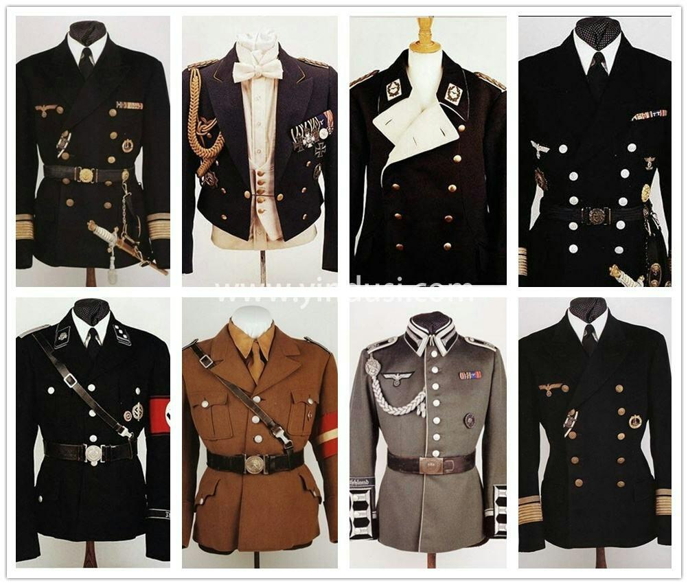 英国版:二战德国军服复刻。对于历史,尤其是一战、二战历史,粉丝人群大为增加。