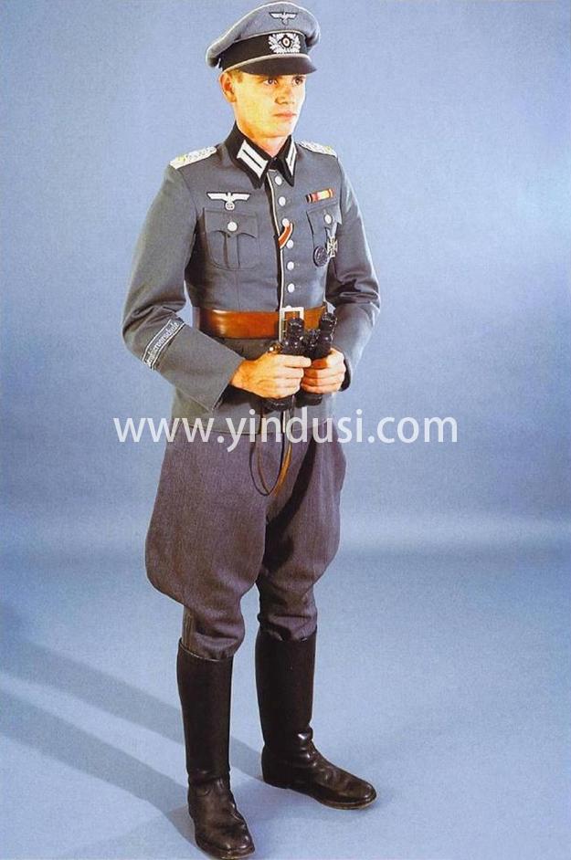 德国的军服分为好几种,服装颜色也不同,这是为什么呢?