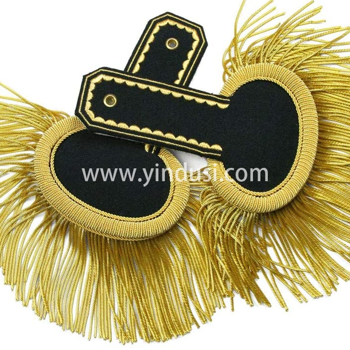 印度丝手工刺绣金属丝元帅大流苏肩章二战德国苏联军服肩章制造商