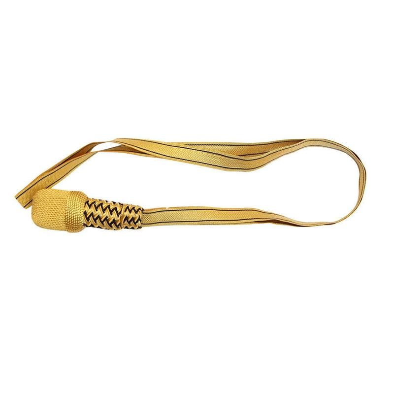 印度丝工厂手工制作金属丝剑结二战德国一战俄罗斯金条海军刀结定做