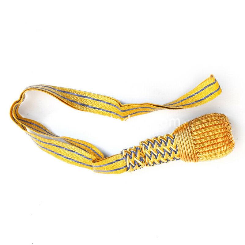 金属丝手工弹簧铜丝制作将军剑结定制二战德国英国美国军官剑结定做