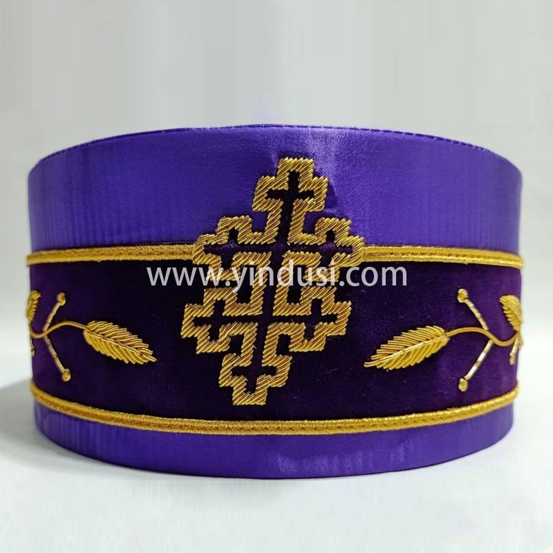 印度丝徽章工厂手工刺绣金属丝手带配饰定制高级服饰品牌饰品定做