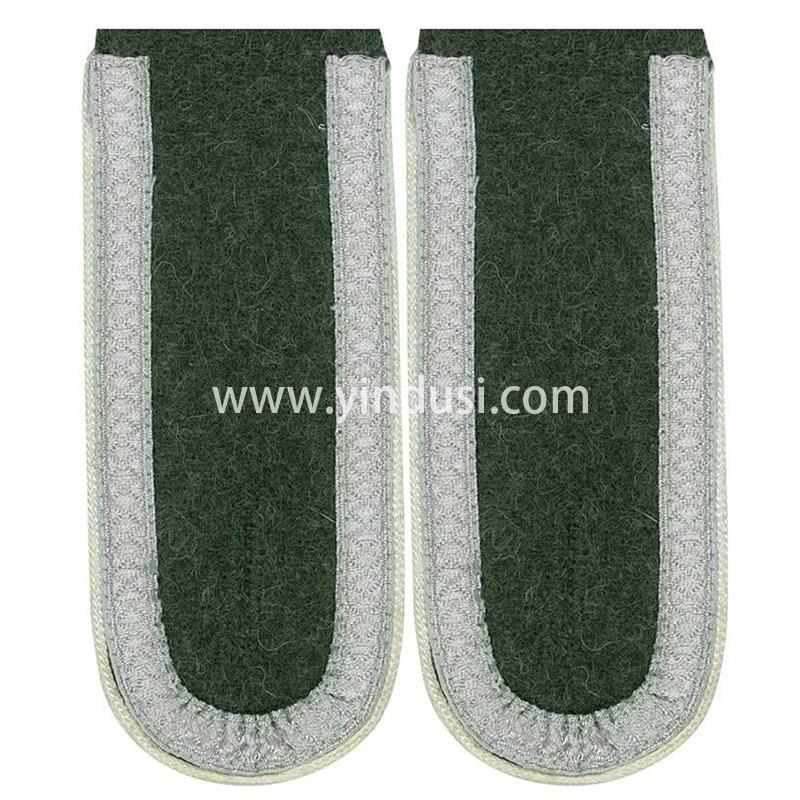 印度丝军品工厂手工制作高级将领肩章定制二战德国英国礼服肩章定做